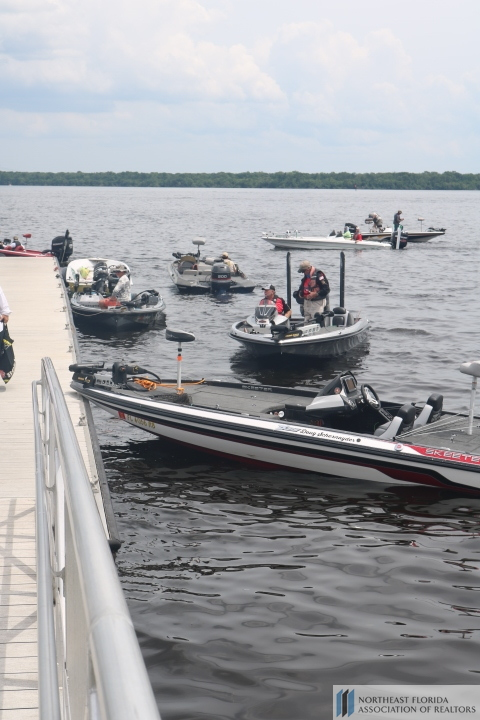 2019 NEFAR Charitable Foundation Bass Tournament Boat Numbers
